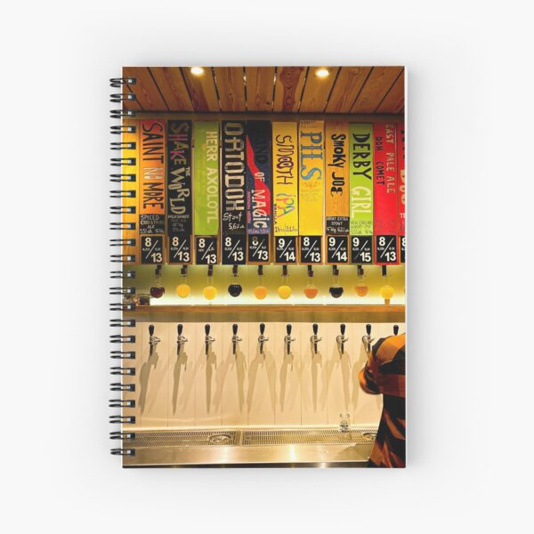 Craftbeer in Wroclaw, Poland Spiral Notebook