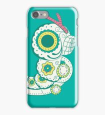Caterpie Pokemuerto | Pokemon & Day of The Dead Mashup iPhone Case/Skin