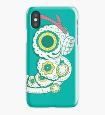 Caterpie Pokemuerto | Pokemon & Day of The Dead Mashup iPhone Case