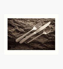 utensils Art Print