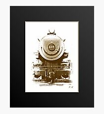 Boston and Maine 410 steam engine front  Photographic Print