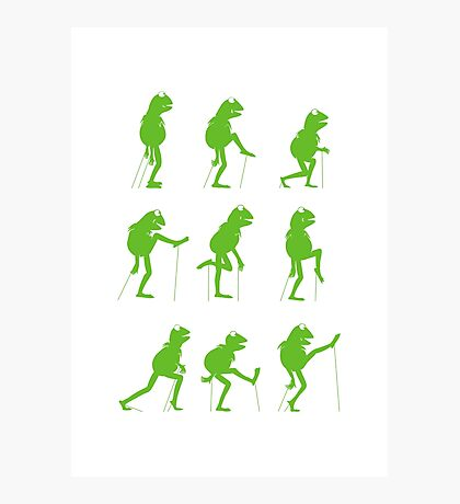 Ministry of Silly Muppet Walks Photographic Print