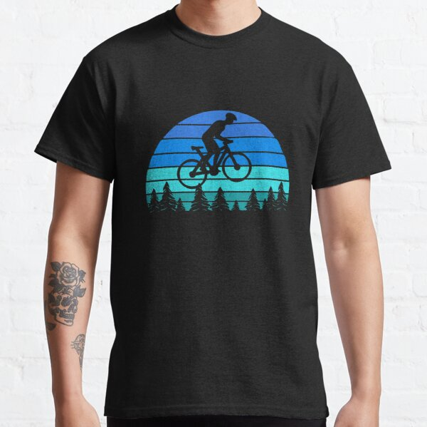 Jump with A Mountain Bike Silhouette 2-6 Years Old Boys /& Girls Short-Sleeved Tshirt