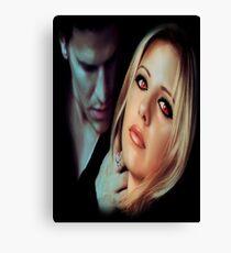 Buffy the Vampire Slayer - Bangel Canvas Print