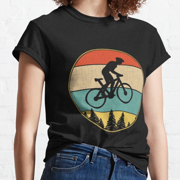 Jump with A Mountain Bike Silhouette 2-6 Years Old Boys /& Girls Short-Sleeved T Shirts