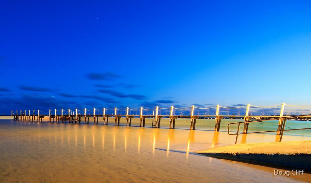 Narrabeen pool board walk by Doug Cliff