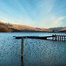 Ullswater Jetty by John Hare
