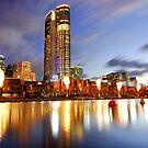 Crown Casino, Melbourne by Alex Stojan