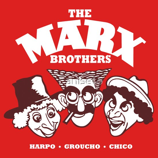TShirtGifter presents: The Marx Brothers