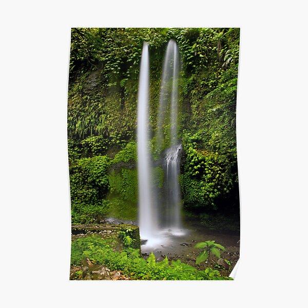 Singanggila waterfall Poster