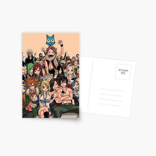 Fairy Tail Postcard