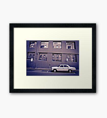 The Benz Framed Print