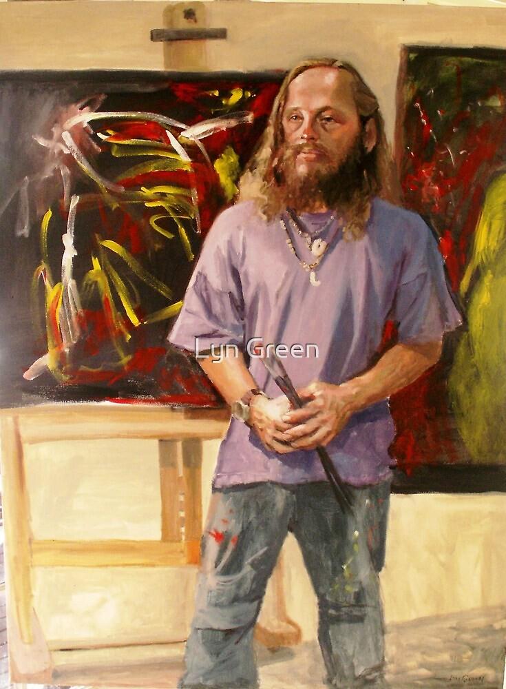 Mark (Fellow Artist) by Lyn Green