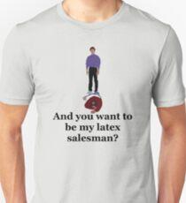 Seinfeld's Latex Salesman Unisex T-Shirt