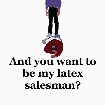 Seinfeld's Latex Salesman by Coattails