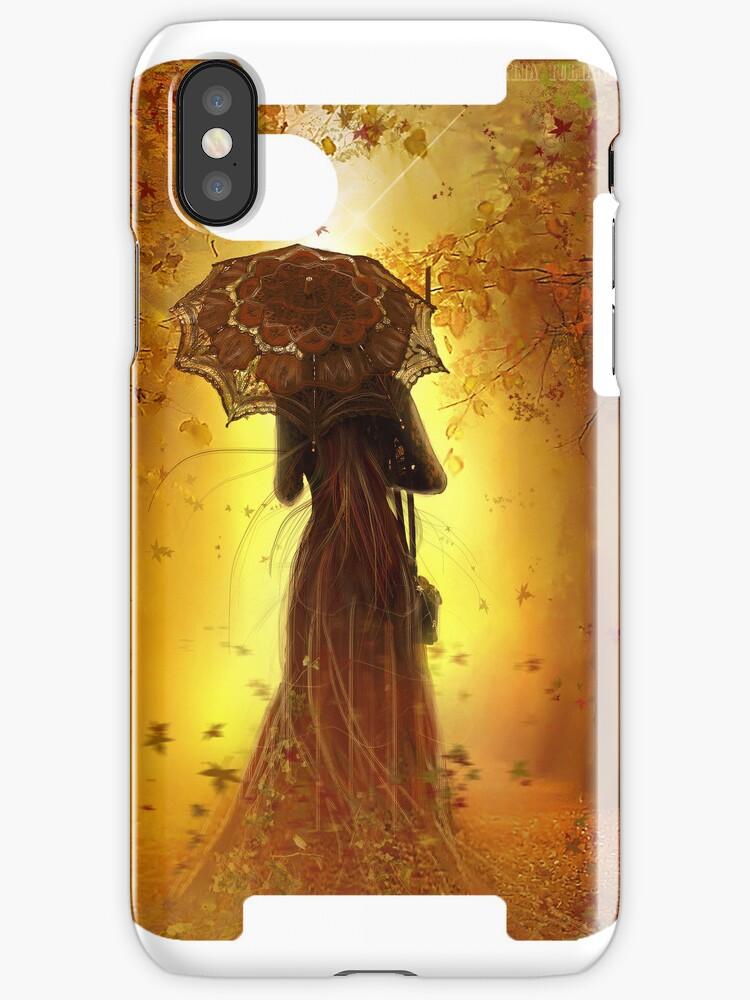 BE MY AUTUMN iphone case LIMITED  edtition by Amalia Iuliana Chitulescu