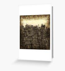 City utopia Greeting Card
