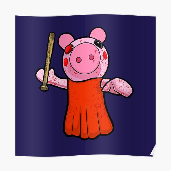 Dantdm Roblox Fashion Famous Roblox Piggy Posters Redbubble