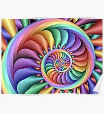 Rainbow Sherbert Poster