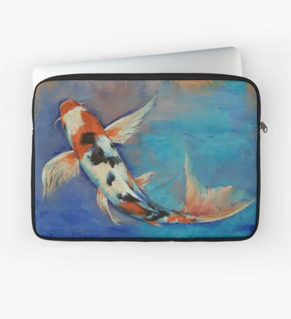Sanke Butterfly Koi Laptop Sleeve