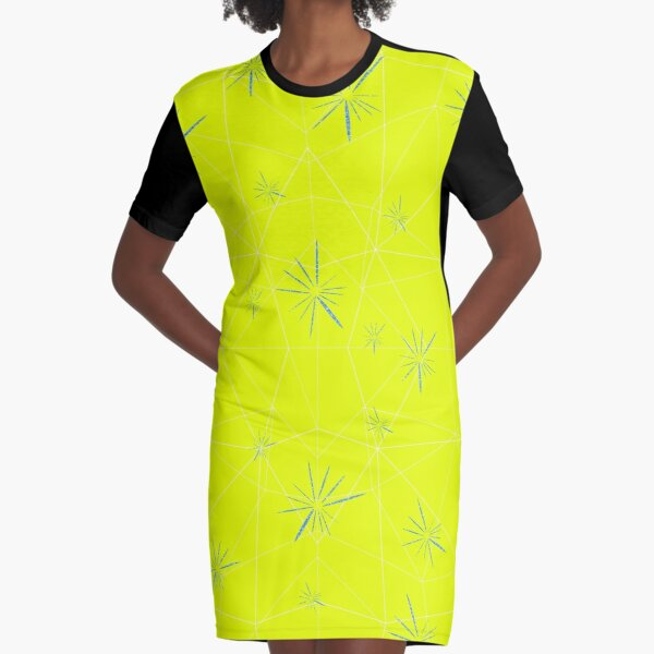 Joy from Inside Out  Graphic T-Shirt Dress