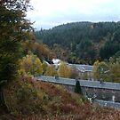 A View of New Lanark Mill, Scotland by biddumy