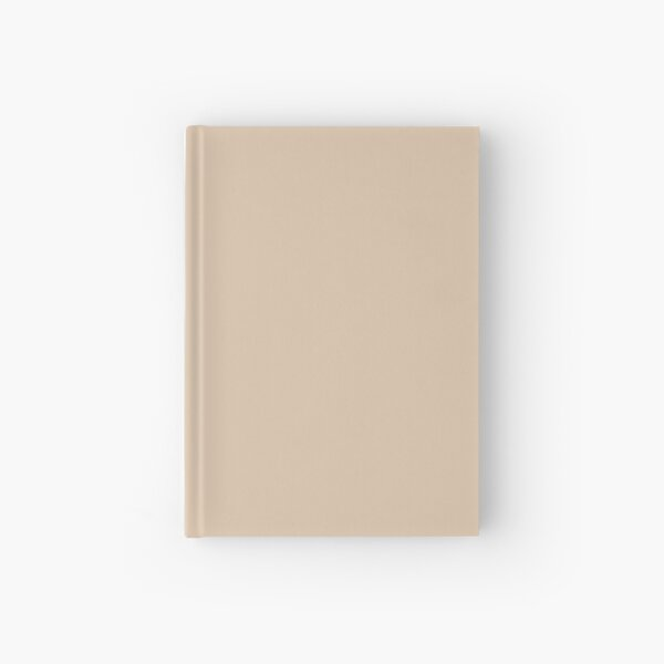 Light Beige - Soft Tan - Pastel Solid Color Parable to Behr Plateau PPU4-08 Hardcover Journal
