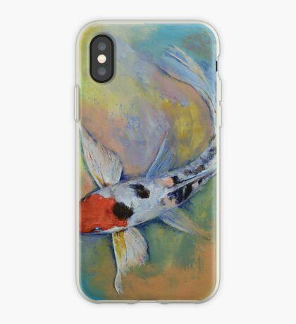 Maruten Butterfly Koi iPhone Case