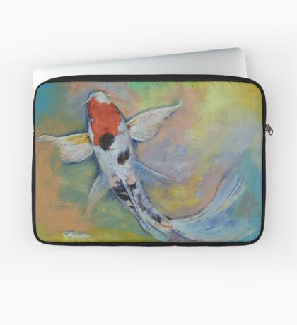 Maruten Butterfly Koi Laptop Sleeve