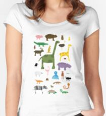 Menagerie Women's Fitted Scoop T-Shirt
