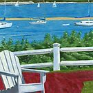 Adirondack Chair Cape Cod by DominicWhiteArt