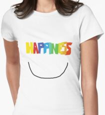 Happiness Women's Fitted T-Shirt