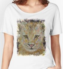 Lion Cub Women's Relaxed Fit T-Shirt