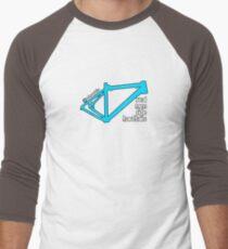 Hardtails light blue version Men's Baseball ¾ T-Shirt