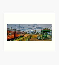 Last Stop-Fort Bragg Art Print