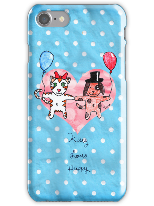 Kitty Loves Puppy by Tane (10) by micklyn