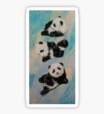 Panda Karate Sticker
