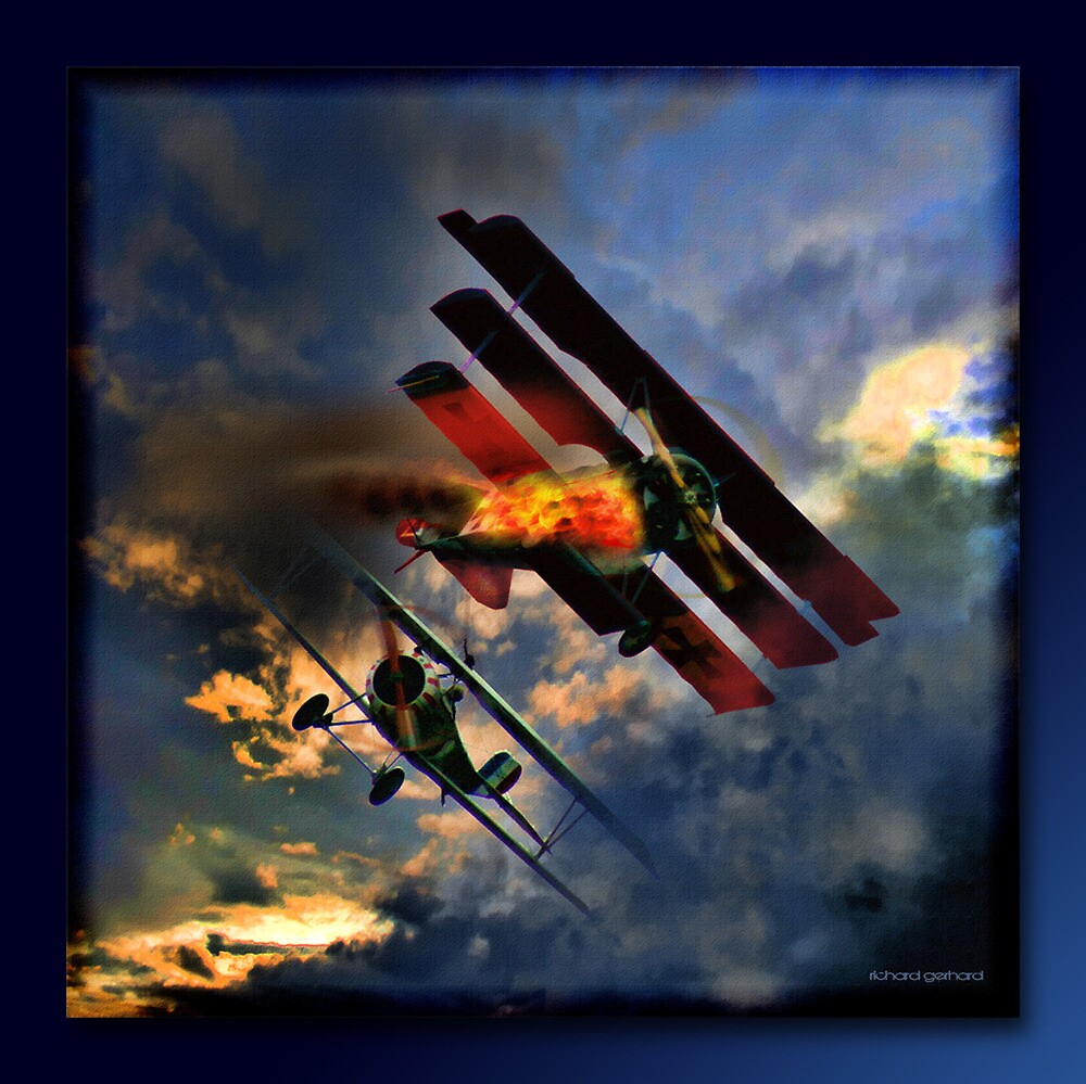 Death Of The Red Baron by Richard  Gerhard