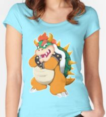 Bowser King Koopa Women's Fitted Scoop T-Shirt