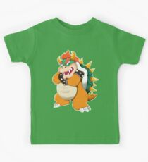 Bowser King Koopa Kids Tee