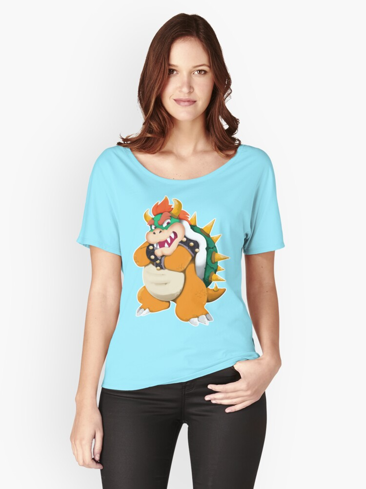 Bowser King Koopa Women's Relaxed Fit T-Shirt Front