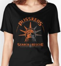 Snake Plissken's  Search & Rescue Pty Ltd Women's Relaxed Fit T-Shirt