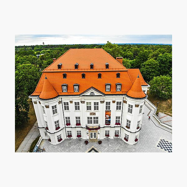 Lesnica Castle in Wroclaw, Poland Photographic Print