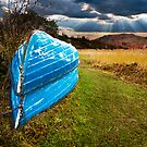 boats in secure winter storage by meirionmatthias