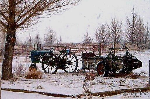 1944 JD BN resting out the winter  by DonActon
