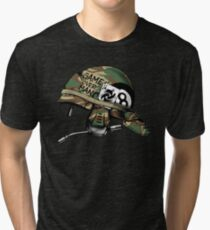 Game Over Man Aliens Born to Kill Tri-blend T-Shirt