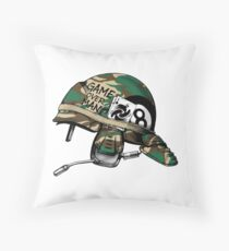 Game Over Man Aliens Born to Kill Throw Pillow