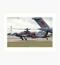RNLAF AH-64D Art Print
