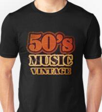 50's Music Vintage T-Shirt Unisex T-Shirt
