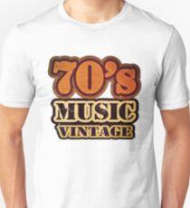 70's Music Vintage T-Shirt Unisex T-Shirt